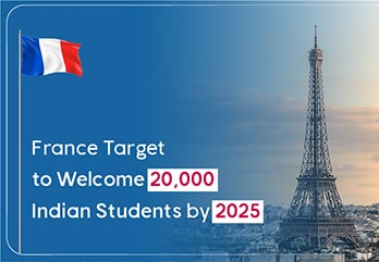 France Target to Welcome 20,000 Indian Students by 2025